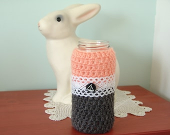 Crochet Jars - (jar included)