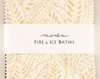 Fire & Ice Moda Batik Fabric - Charm Pack