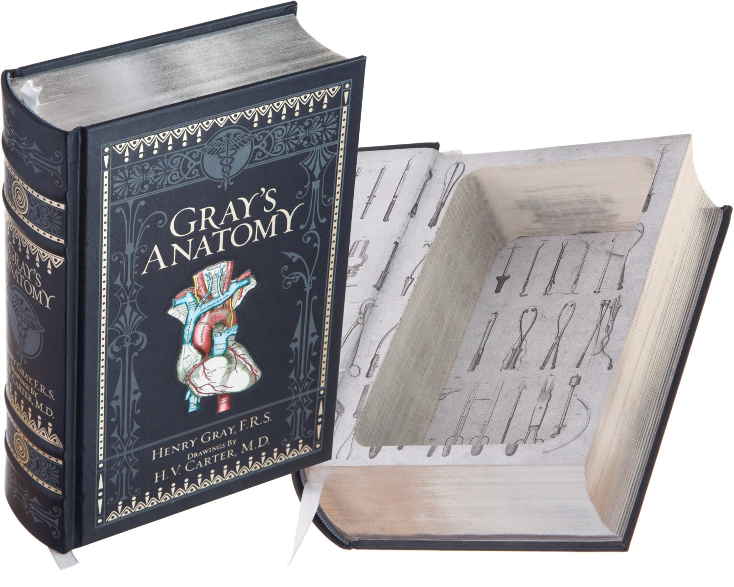 Large Hollow Book Safe Grays Anatomy By Henry Gray