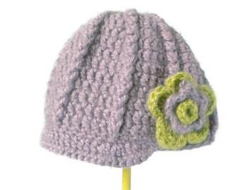Crochet Newsboy Cap in Light Brown - crochet newsboy hats for boys - crochet newsboy hats for girls - winter hats for men