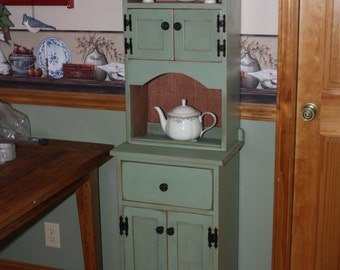 Hutch, Chimney, FREE SHIPPING, Shabby, Cottage, Primitive, Chic, Rustic, Distressed