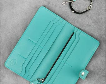 Womens slim purse Womens slim wallet Slim minimalist purse Slim wallet Personal wallet Personalized slim wallet Mode wallet Personal purse