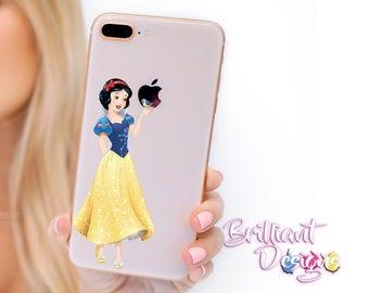 Snow White, iPhone 8Snow White Decal, Snow White Sticker, iPhone 8 Decal, iPhone 8 Sticker, iPhone 8, iPhone 8 Plus, iPhone X, Gift, geekery