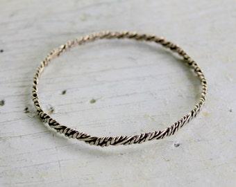 STERLING Silver Bangle Bracelet 925 Mexico