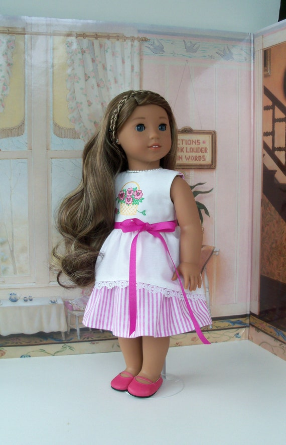 SUMMER SALE!  Like American Girl Doll Clothes / Nanea's Market Dress /   18 Inch Doll Clothes fits American Girl Dolls