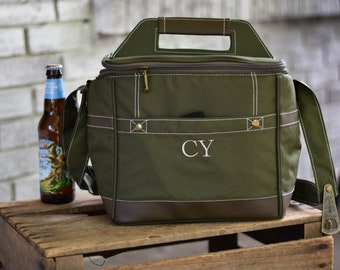 8 Personalized Groomsmen Insulated Cooler - Beer Cooler Personalized - Insulated Beverage Bag - Groomsmen Gifts