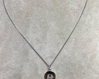 Armenian Initial Pendant