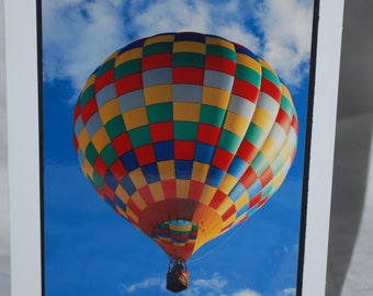 photo card, hot air balloon photography, New Mexico Balloon Fiesta