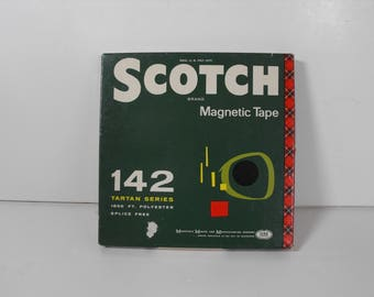 Vtg Pre-Recorded Scotch Brand Magnetic Tape for Reel to Reel Player 1800 ft  (1375)