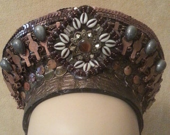 20% OFF SALE Found Objects Crown