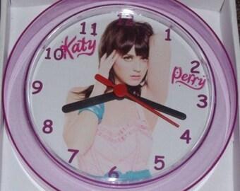 KATY Perry Novelty Wall Clock BRAND NEW **L@@K**