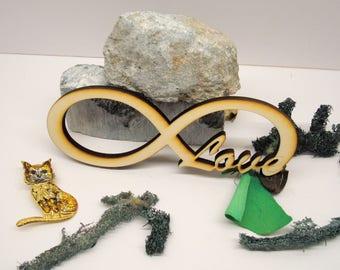 Love infinity 02254 scrapbooking decor wedding love