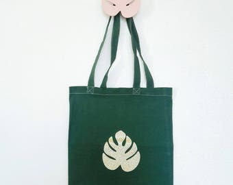 Tote bag leaf it