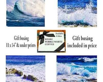 Beach decor, beach wall art, beach photography, nautical decor, ocean wave, coastal, coastal wall art, ocean art, beach house decor