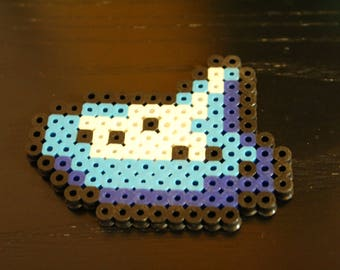 Ocarina Perler Keychain or Magnet / Legend of Zelda: Ocarina of Time | Nintendo | Collectibles | Classic