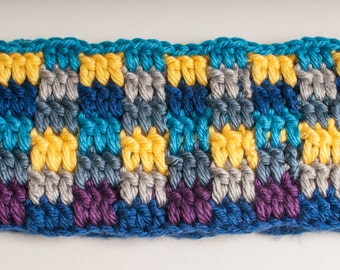 Cowl Infinity Scarf Cowl, Blue, Grey, Yellow, Purple, Ready to Ship, Hometown Infinity Scarf