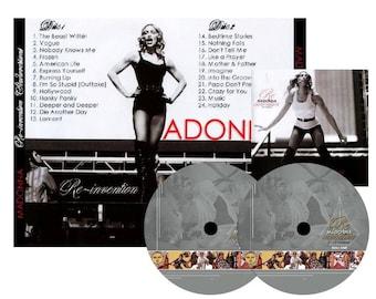 Reinvention Tour Studio Versions Double CD - Madonna