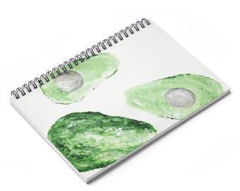 Avocado Notebook, avocado journal