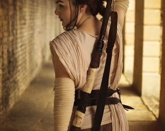 Rey costume, cosplay - Star Wars: the Force Awakens