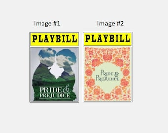 Theater / Show Charm - Playbill Play Bill - Pride and Predjudice