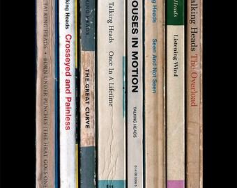 Talking Heads 'Remain In Light' Album As Penguin Books Poster Print, Literary Music Poster, Home Decor, David Byrne Art