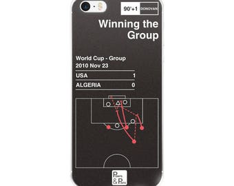 USA Soccer iPhone Case: Winning the Group (2010)