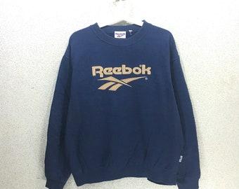 RARE !! Vintage Reebok Big Logo