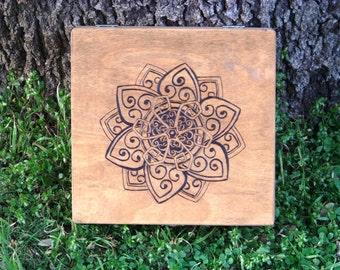 Celtic Lotus Keepsake Box