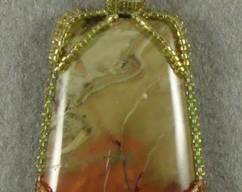 Framed Carosite pendant