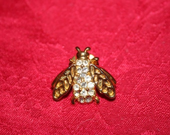 Trifari Style Lapel Pin - Bee