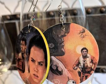 Star Wars: The Force Awakens earrings