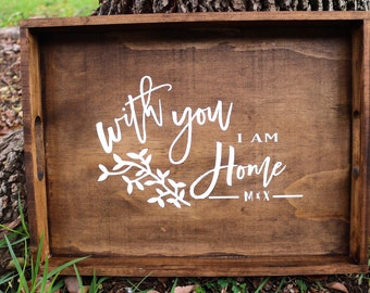 Personalized Wooden Trays