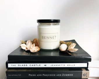 BENNET | Handmade Soy Candle