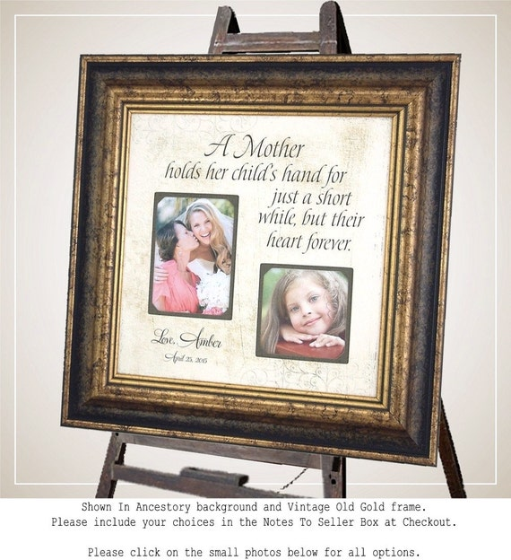 Wedding Photo Frame Mother of the Bride Gift Mother of the