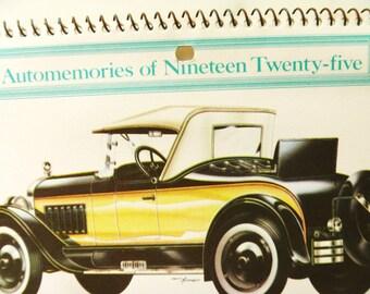 Commemorative 1925  Car Calendar  for 1980-81