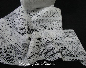 2 Yards Vintage Wide Lace Trim