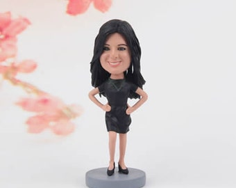 Christmas Gifts for her - Wedding gifts ideas - Anniversary gifts - Gifts for women - Custom Bobblehead - Home décor