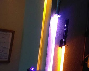 Jedi Lightsaber Wall Mount (Vertical Display)