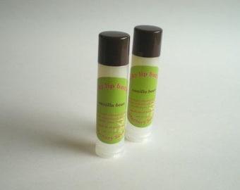 VANILLA BEAN - Silky Lip Butter - all-natural vanilla bean flavor