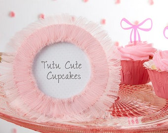 Ballet Picture Frame - Tutu Cute Pink Tulle Photo Frame Baby Shower Favor - Birthday Party - Ballet Recital Photo Picture Frame MW34178
