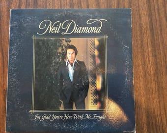 Neil Diamond - I'm Glad You're Here With Me Tonight VINYL