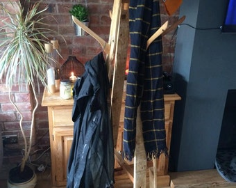 Handmade Reclaimed Timber Coat Stand