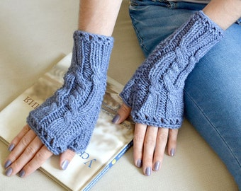 fingerless gloves womens knit gift-for-women cable knit gloves winter gloves fingerless mittens arm warmers wool gloves wife gift for wife