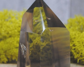 Smoky Quartz Crystal Tower Point -  1236.15