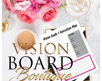 Vision Goals & Execution Plan - Vision Board Boutique