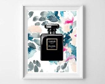 Chanel print,chanel poster,chanel printable download,chanel digital,chanel decor,chanel wall art,coco chanel,chanel art,chanel wall decor
