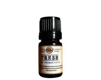 Fresh Essential Oil Blend for Productivity 5 ml