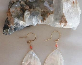 Mother of Pearl Earrings #54