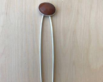 Desert Rose Hair Pin