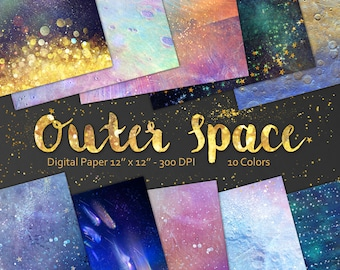 Space Digital scrap paper, Stars Background, Space background,  Star Night Sky, Galaxy large texture, Cosmic , space texture high resolution